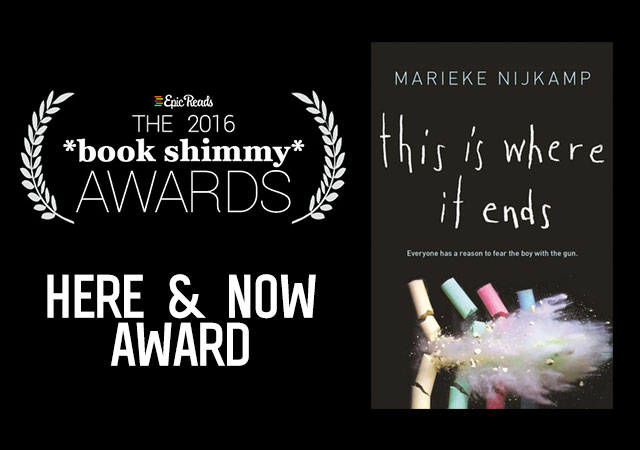 2016 Epic Reads Book Shimmy Award: Here and Now Winner - This is Where it Ends