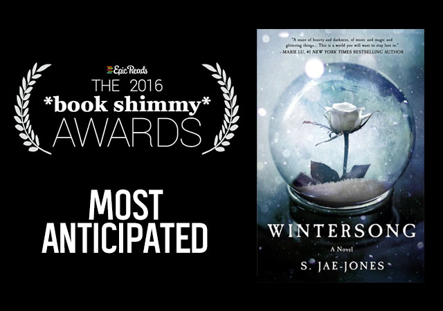 2016 Epic Reads Book Shimmy Award: Most Anticipated Winner - Wintersong by S. Jae-Jones