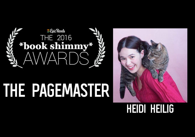2016 Epic Reads Book Shimmy Award: The Pagemaster Winner - Heidi Heilig