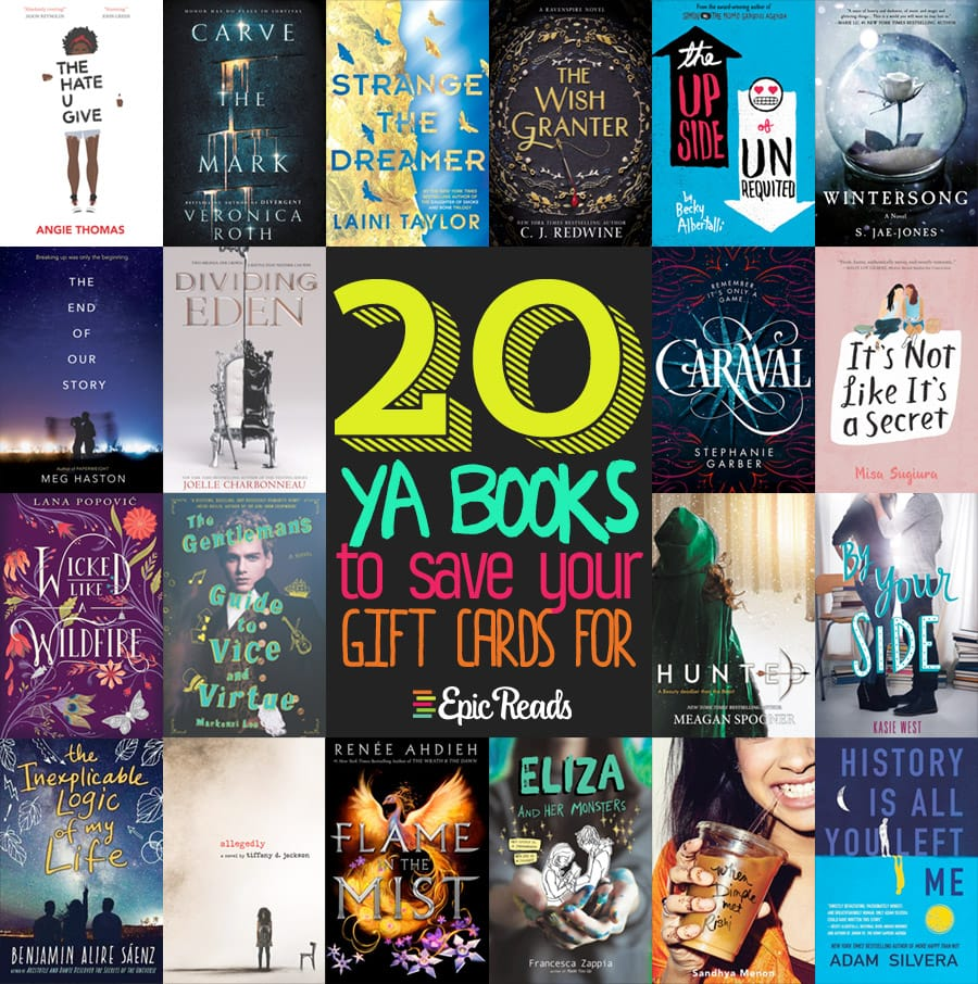 20 Ya Books Worth Saving Your Gift Cards For In 2017