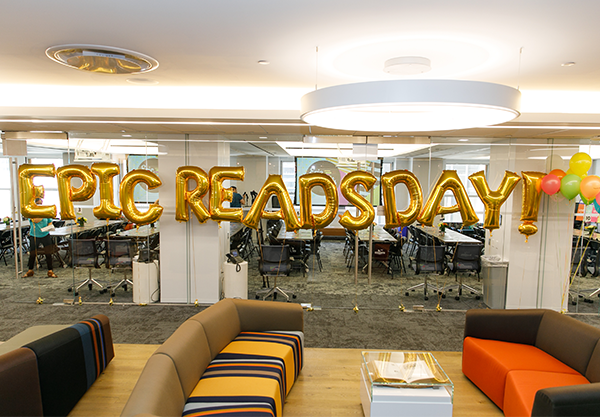 We Had So Much Fun at the First-Ever Epic Reads Day!