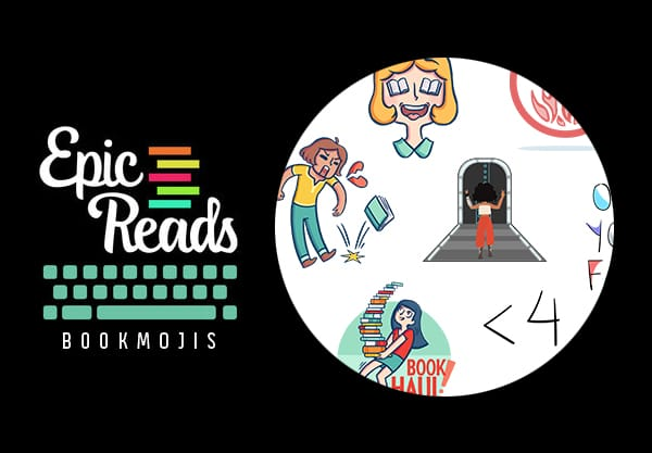 Epic Reads Bookmojis Have Officially Launched!