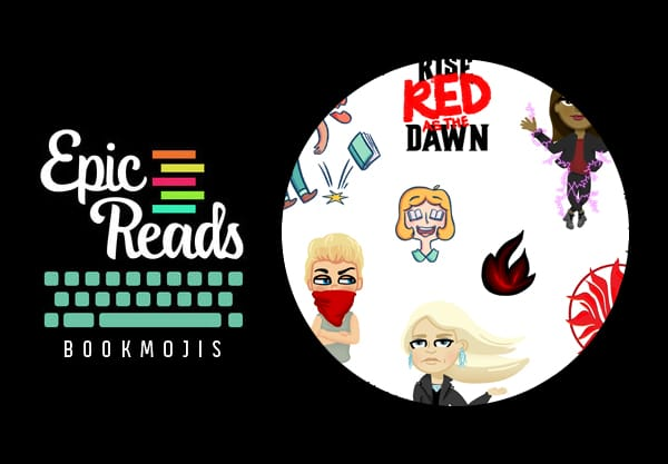 Red Queen Bookmojis Are Finally Here!