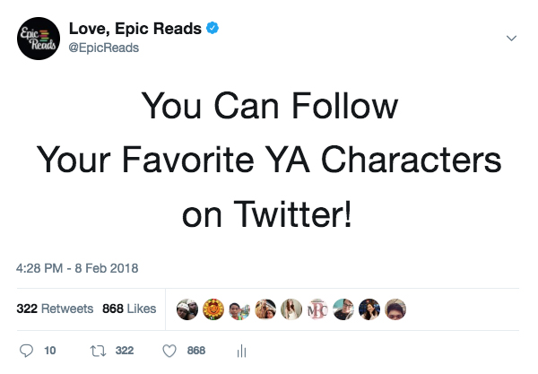 Don't Know Who to Follow on Twitter? These YA Characters Are a Good Start