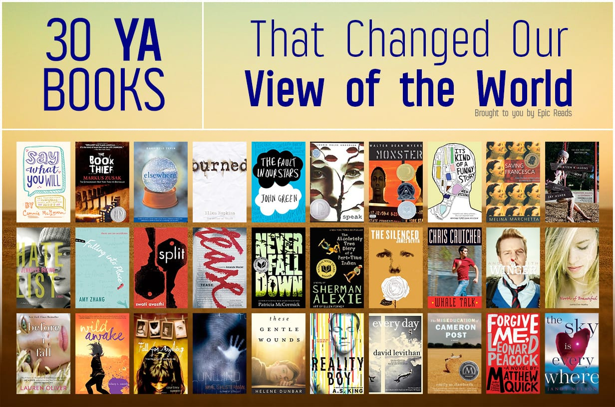 30 YA Books That Changed Our View Of The World Infographic
