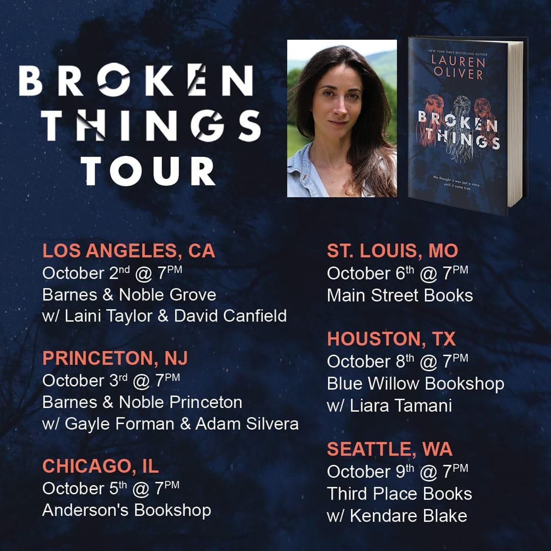 Broken Things Tour
