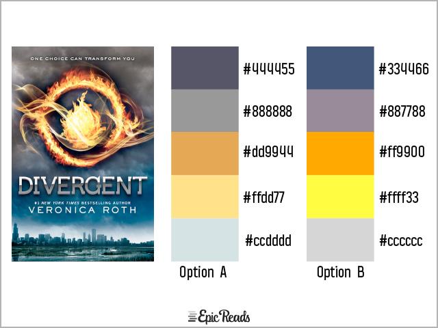 Divergent color palette