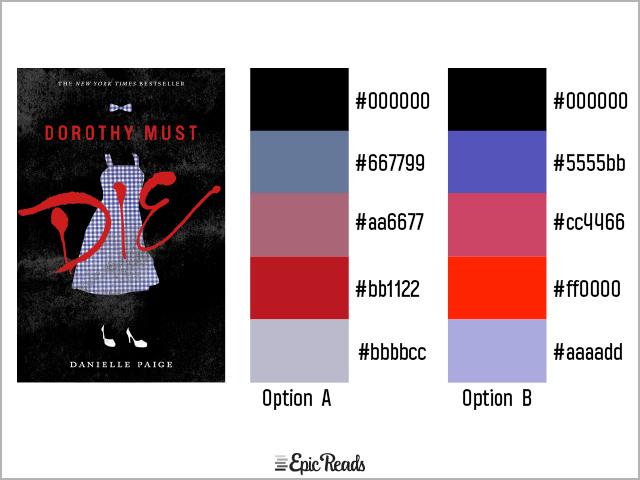 Dorothy Must Die color palette