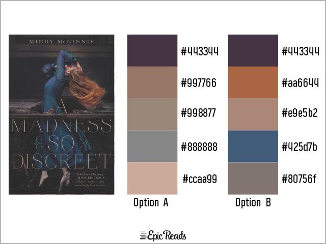 A Madness So Discreet color palette