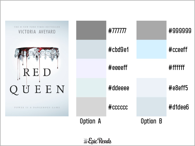 Red Queen color palette