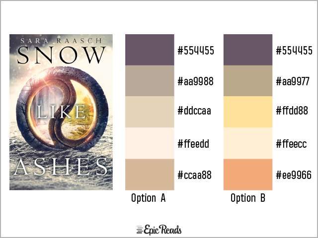 Snow Like Ashes color palette