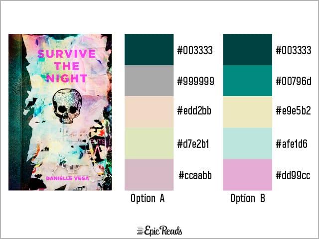 Survive the Night color palette