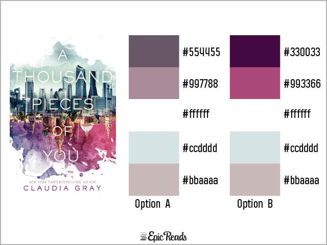 A Thousand Pieces of You color palette