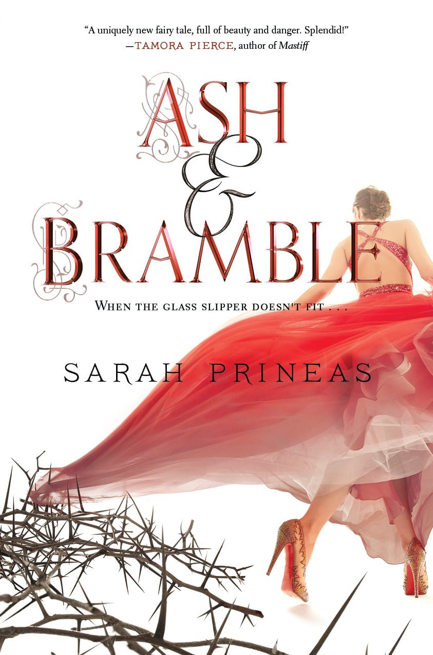 Epic Reads Cover Reveals: ASH & BRAMBLE by Sarah Prineas