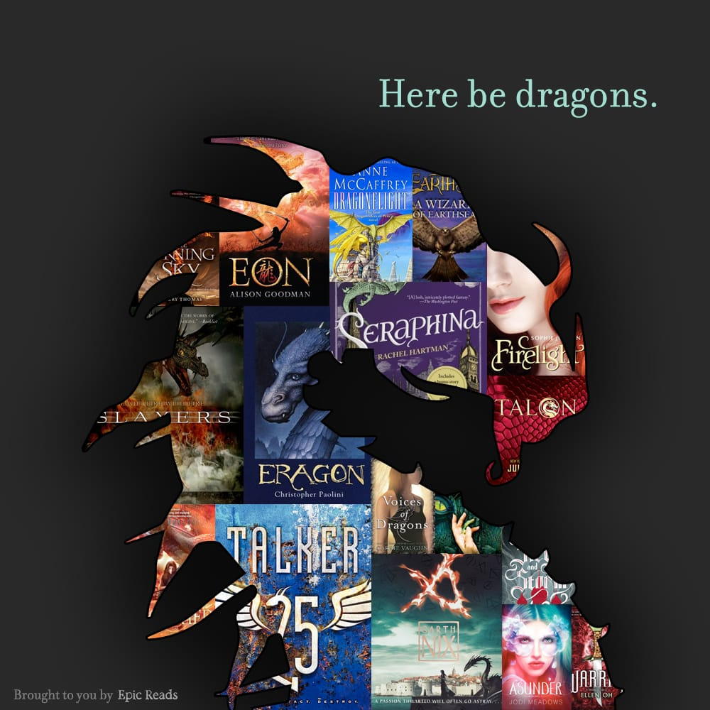 17 YA Books With Dragons - by Epic Reads