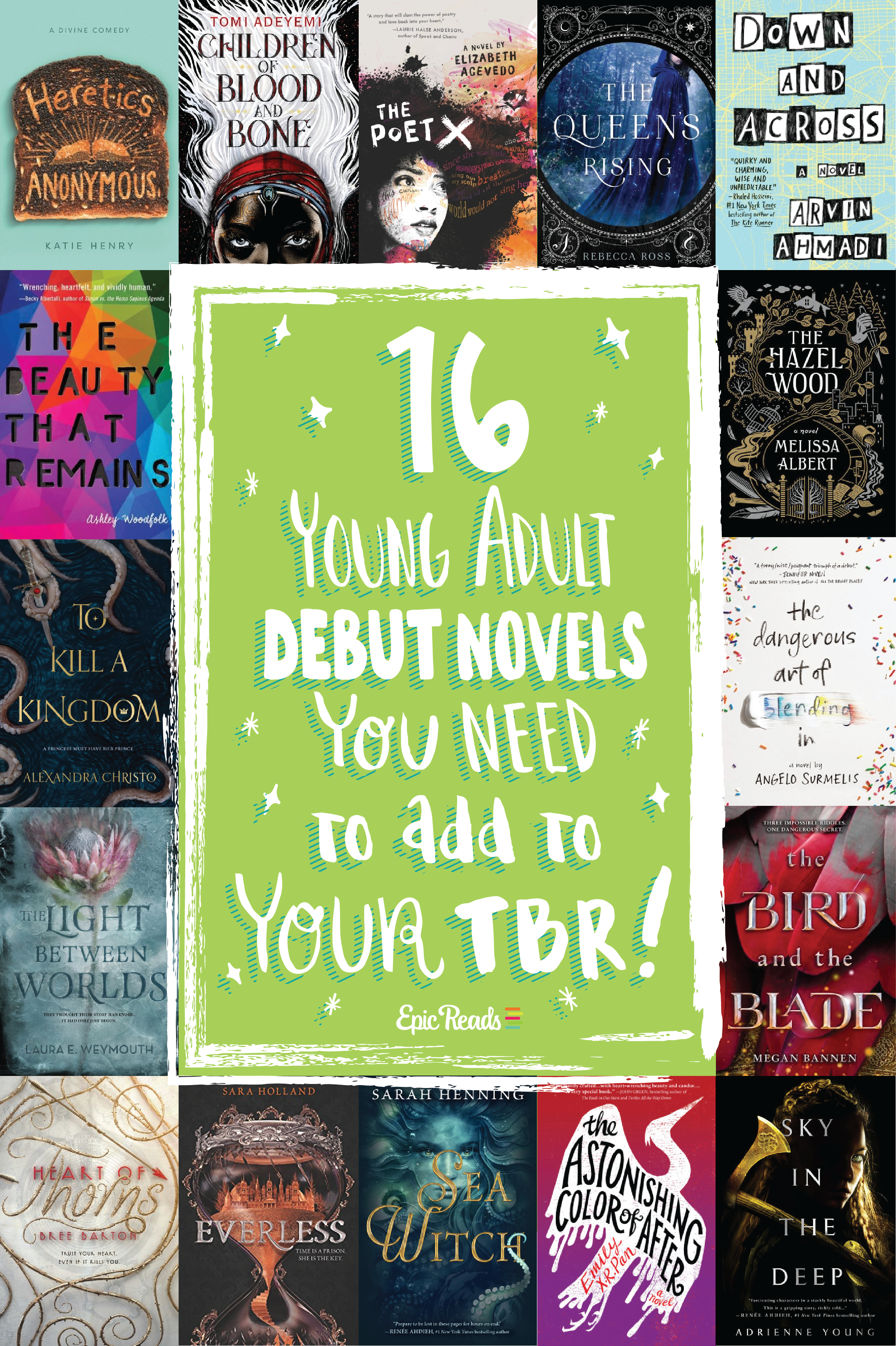 16 YA Debut Novels You Need to Add to Your TBR