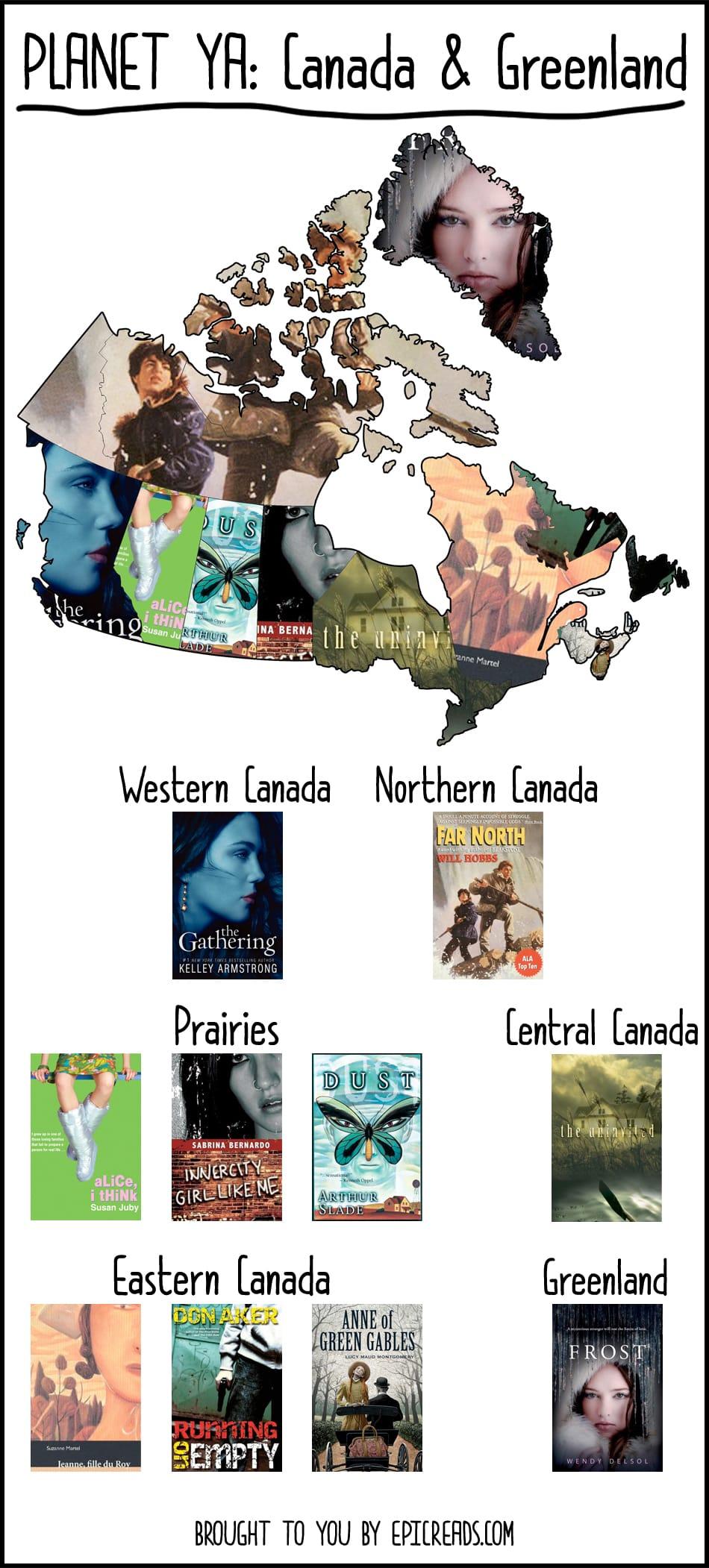 Planet YA: Canada & Greenland - by Epic Reads