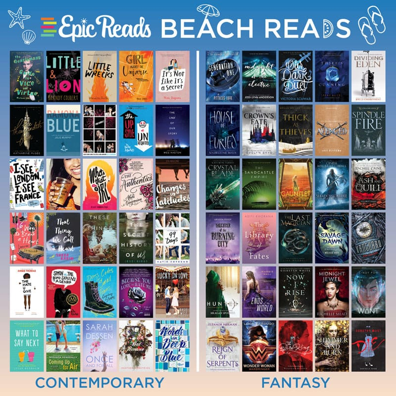 3026a28d47 Check out this *epic* graphic for a handy guide to beach reads and get more  details on the books below!