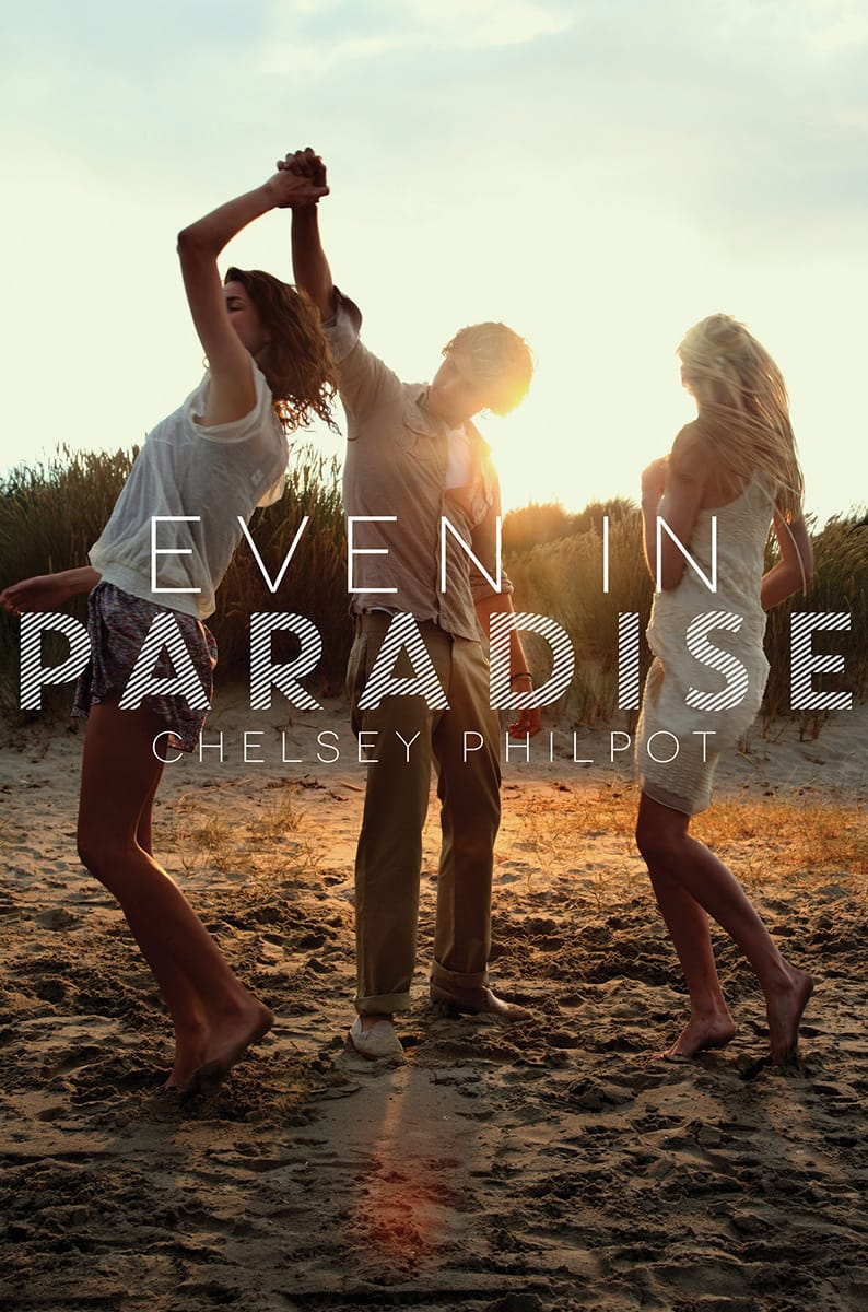 EVEN IN PARADISE by Chelsey Philpot - Cover revealed by Epic Reads