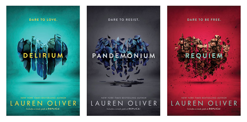 The Making of the New Covers for Delirium by Lauren Oliver