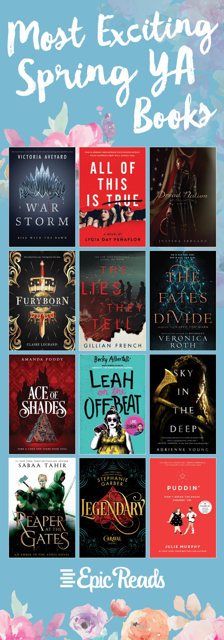 Most Exciting Spring YA Books