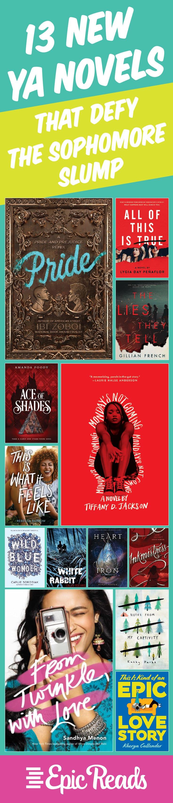 13 New YA Novels That Defy the Sophomore Slump