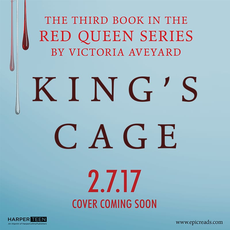 Red Queen #3 Title Reveal: KING'S CAGE