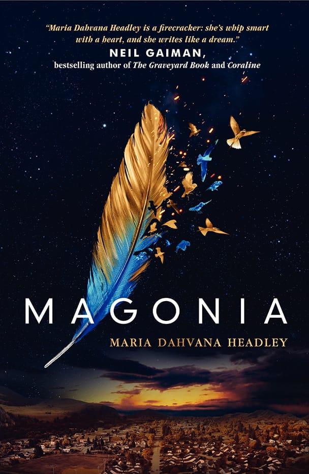 Epic Reads Cover Reveal: MAGONIA by Maria Dahvana Headley - on sale April 28