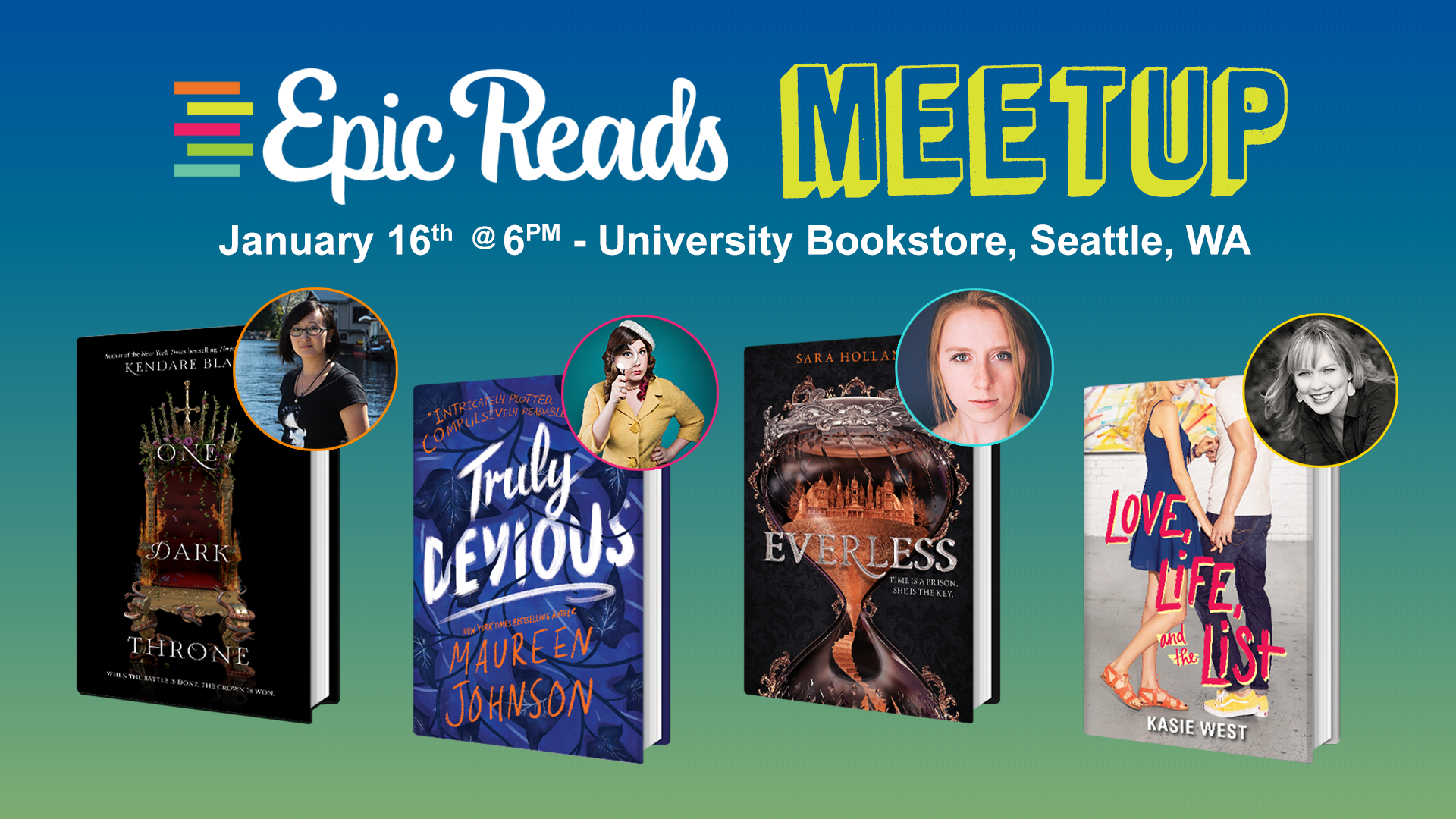 Epic Reads Meetup