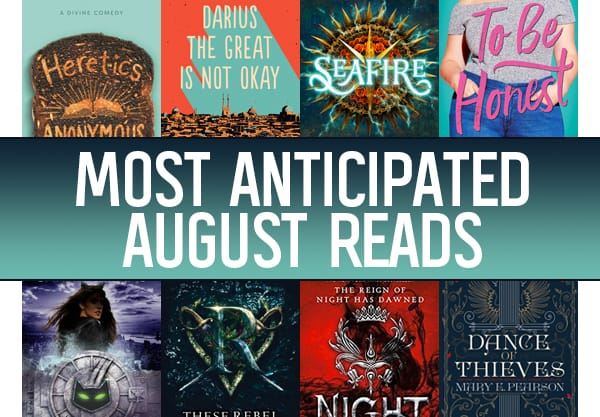 The 18 Most Anticipated Young Adult Books to Read in August