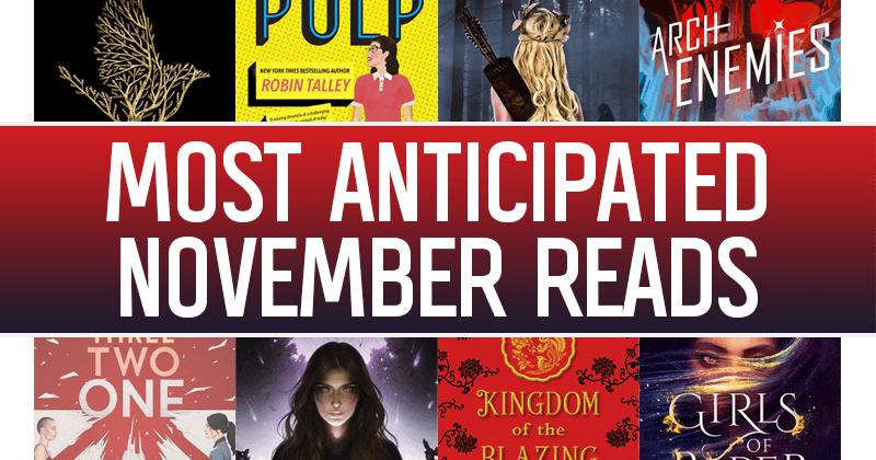 The 17 Most Anticipated YA Books November Will Be Bringing Us