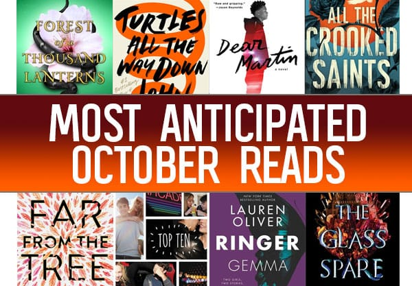 The 18 Most Anticipated YA Books To Read In October
