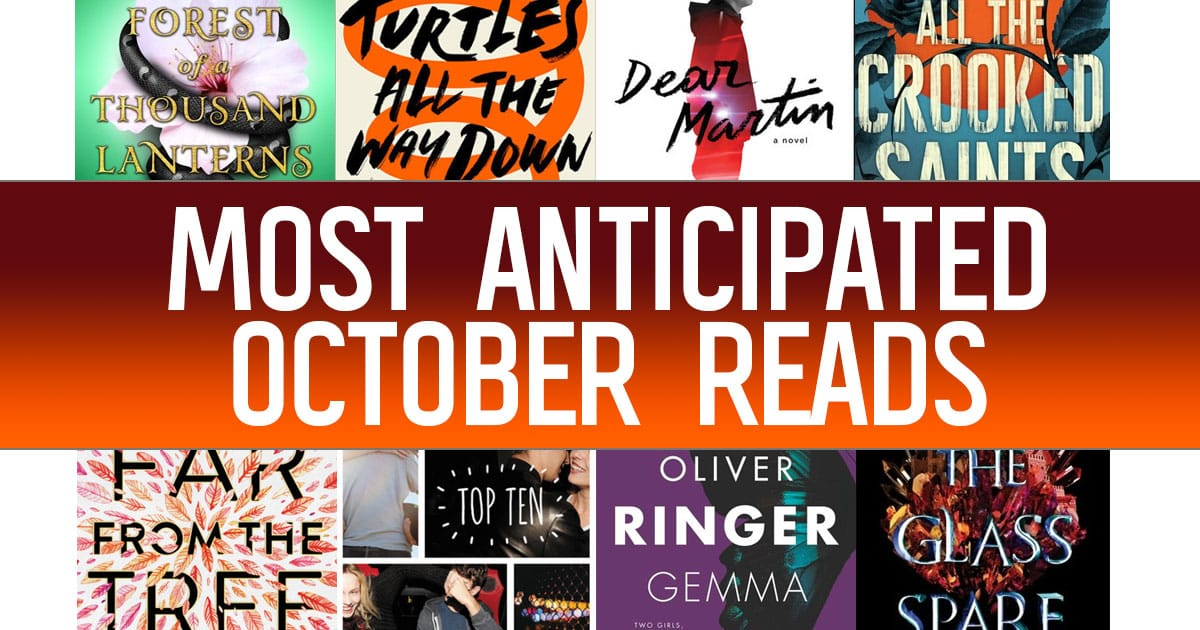 The 18 Most Anticipated YA Books to Read in October 2017