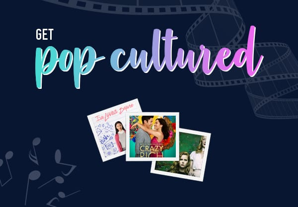 Get Pop Cultured with Books Like Crazy Rich Asians & More!