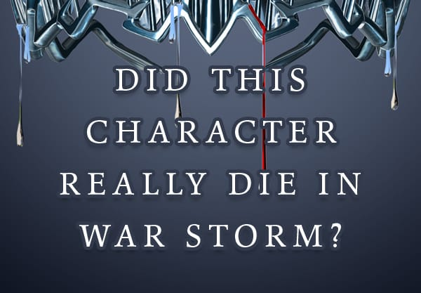 Let's Talk Red Queen Spoilers! Did This Character Really Die in War Storm?