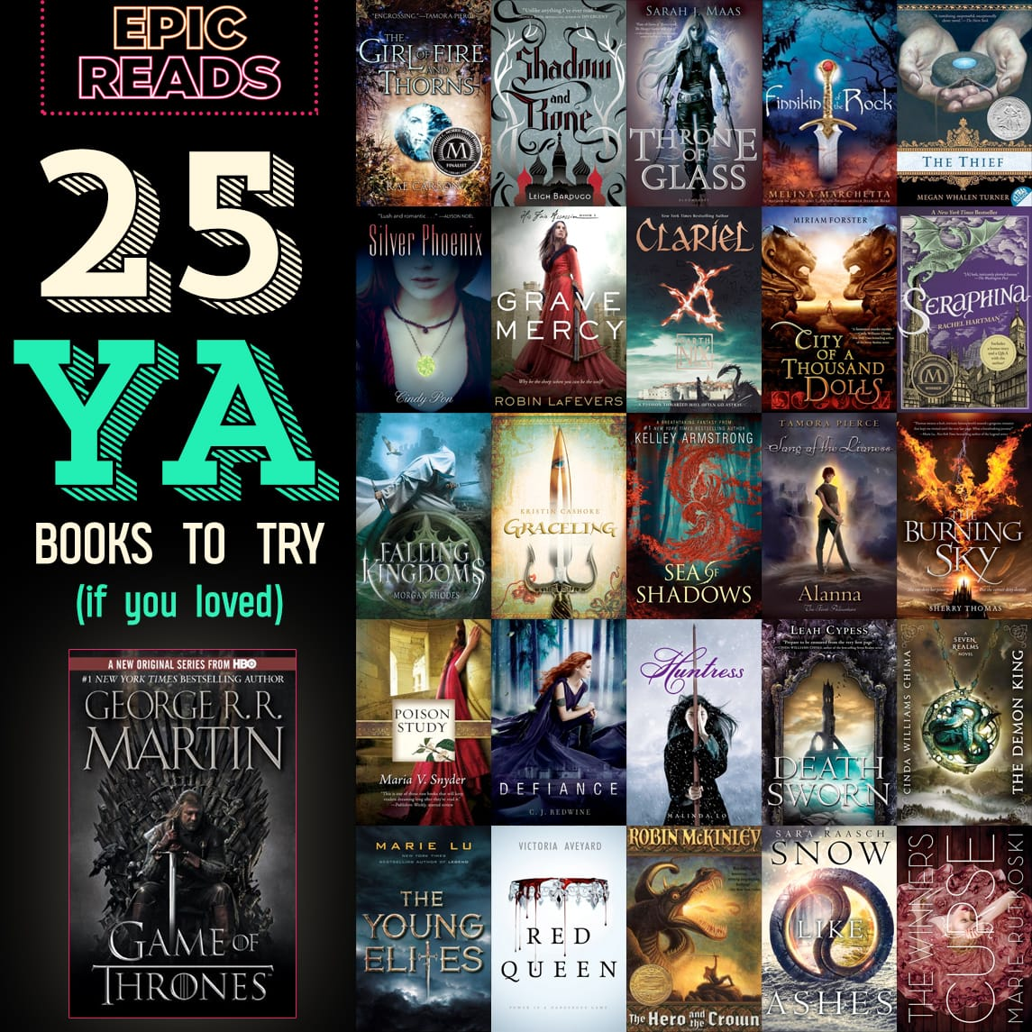 25 Ya Books For Game Of Thrones Fans Epic Reads Blog