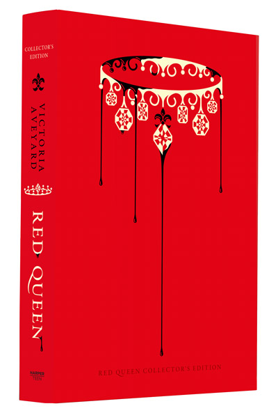 Red Queen Collector's Edition Front