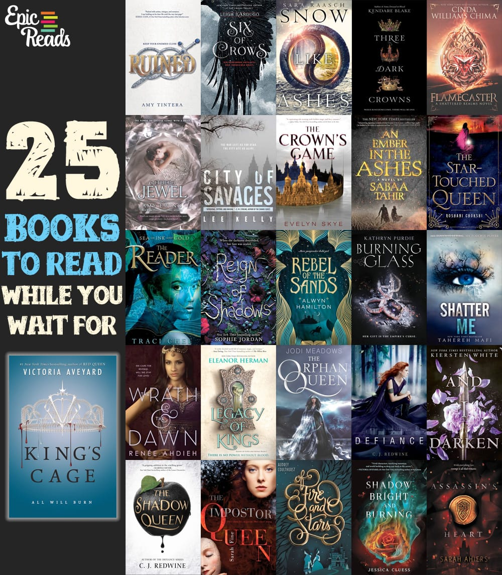 25 Books To Read While You Wait for King's Cage - by Epic Reads