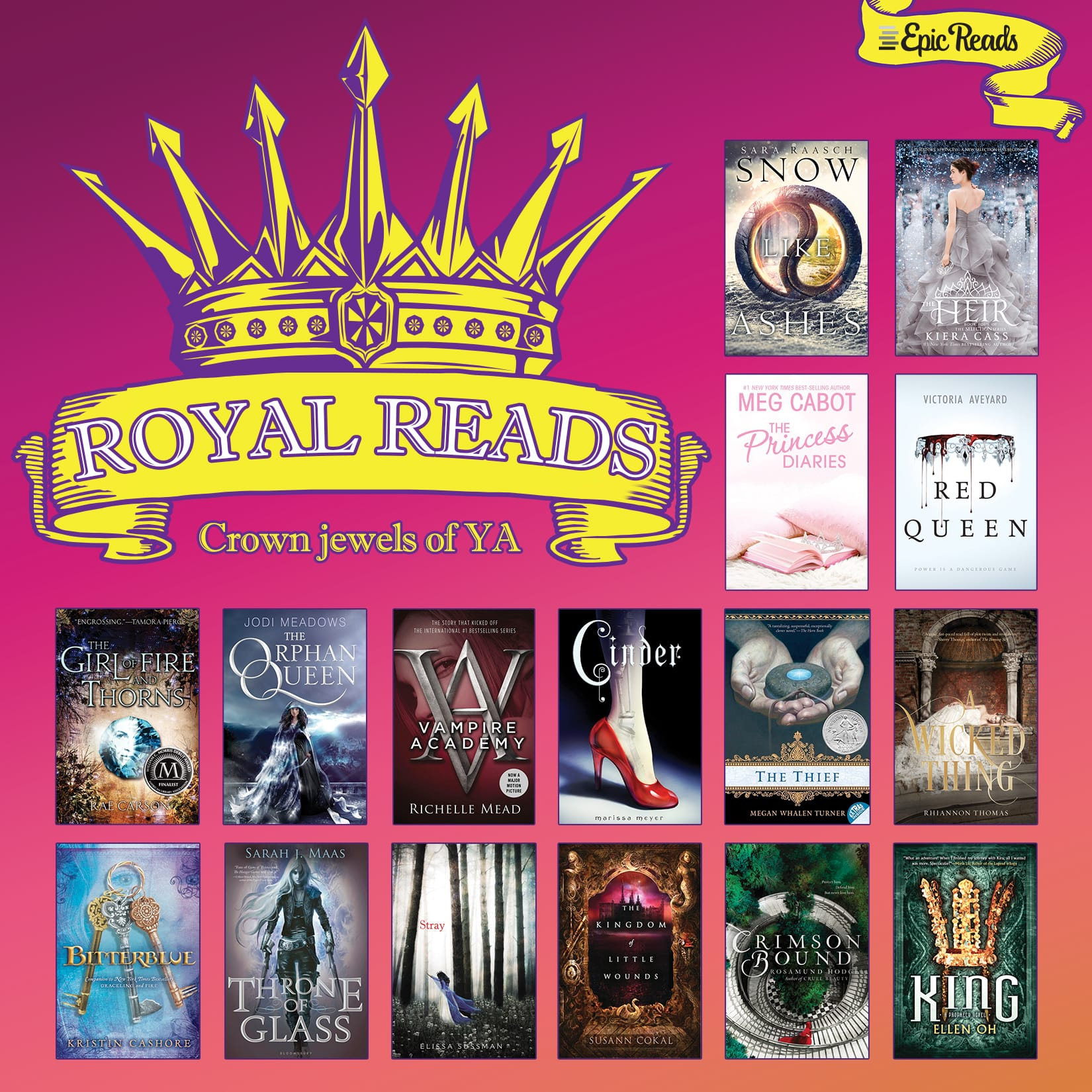 RoyalReads: 16 YA Books to Rule Us All | Epic Reads Blog