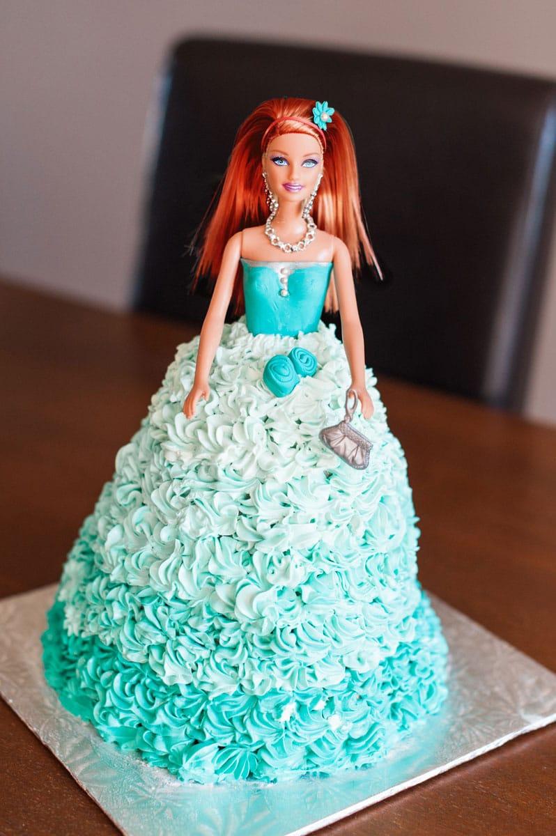 Selection Barbie Cake