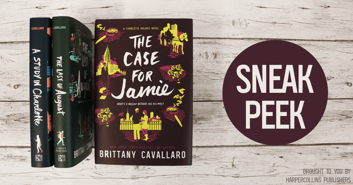 Read the First 3 Chapters of The Case For Jamie by Brittany Cavallaro