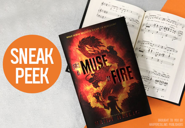Read the First 2 Chapters of For a Muse of Fire