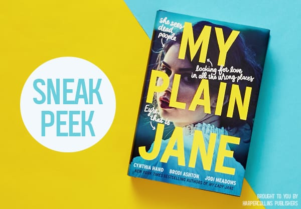 Read an Exclusive Excerpt of My Plain Jane!