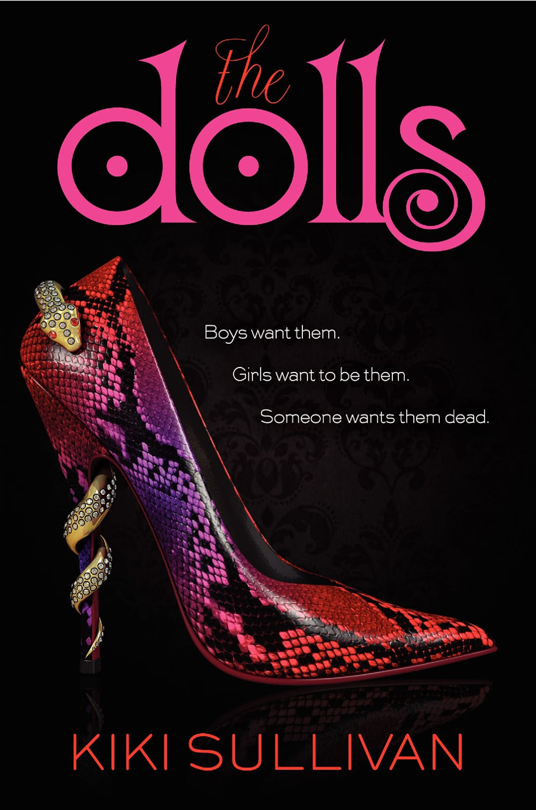 The Dolls by Kiki Sullivan - See more cover reveals on EpicReads.com!