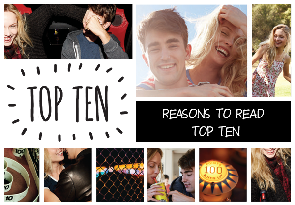 Top Ten Reasons to Read Katie Cotugno's Top Ten