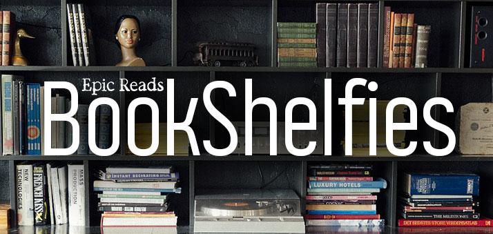 Epic Reads presents: Author BookShelfies!
