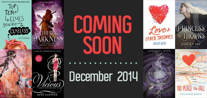 The 13 Most Anticipated Ya Novels Publishing In December 2014 Epic