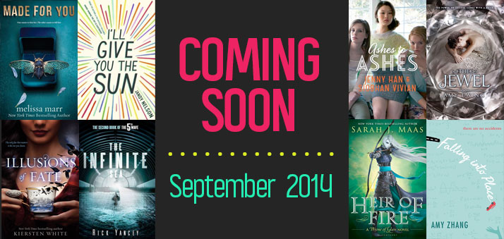 The 20 Most Anticipated Ya Books Publishing In September 2014 Epic