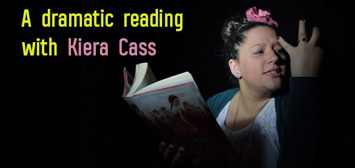 The Selection Series Quotes | Kiera Cass Dramatically Reads Quotes From The Selection Epic Reads