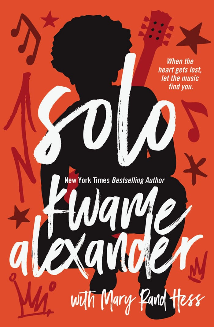 Cover Reveal: Solo by Kwame Alexander